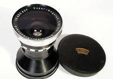 SCHNEIDER KREUSNACH 165mm f/8 SUPER ANGULON Wide Angle Lens Very Heavy + Ring