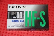 SONY  HF S  60       VS.  VI        BLANK CASSETTE TAPE (1) (SEALED)