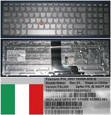 Qwerty Keyboard Italian HP EliteBook 8560W HX0PF 9Z.N6GPF.00E 652682-061