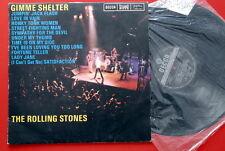 ROLLING STONES GIMME SHELTER 1971 BLACK DECCA LABEL #2 RARE EXYUGO LP