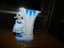 Dutch Girl Bud Vase Vintage Japan