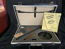 Vintage Treasure Probe I; Mark 1 Metal Detector In Brief Case