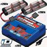 Traxxas EZ-Peak Dual Charger & (2) 5000mAh NiMH 7-cell battery iD packs #2961x