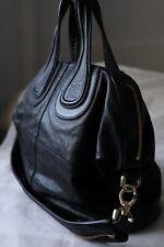 Givenchy  Nightingale  Black Medium Bag Gold Hardware -AUTHENTIC b25e5a17ae14c
