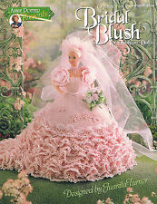 "Crochet doll dress pattern ""Bridal Blush"" Annie Potter Presents"