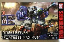 NEW Fortress Maximus Titans Return Emissary & Maximus Generations MIB HASBRO
