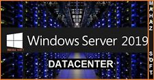 Microsoft Windows Server 2019 DATACENTER Full Retail Version + 32/64 BITS+ ESD++