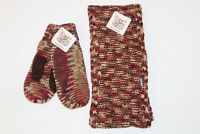 Women's Muk Luks Eternity Scarf and Mittens