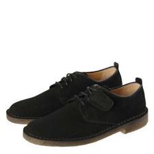 Zapatos informales de hombre Clarks color principal negro de ante