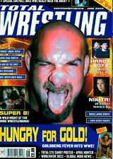 Total Wrestling Magazine June 2003 Goldberg On Cover