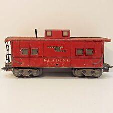 "Marlines Red Passenger Car Train Piece 7"" Long, No Box"