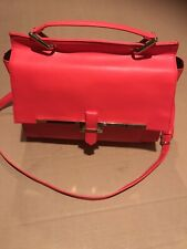 Forever 21 Red Satchel Crossbody Purse