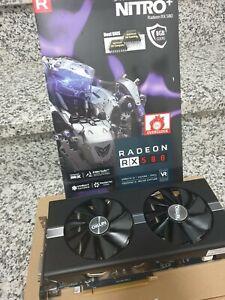 scheda video Sapphire Nitro + Radeon RX 580 8GB 100%FUNZIONANTE
