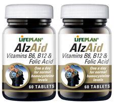 Lifeplan AlzAid B Complex - 2 x 60 tablets - TWIN PACK