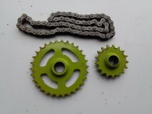 CLAAS I30 / 906 PICK UP REEL 17 TOOTH / 30 TOOTH AUGER SPPED KIT INC CHAIN