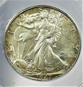 1947 USA Liberty Walking Silver Half Dollar ANACS MS 64 Condition KM#142 (912)