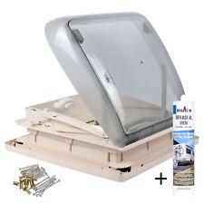 Dometic Mini Heki 40 x 40 Dachstärke 43 - 60 mm Zwangsbelüftung + Dekalin