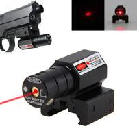 Pistola táctica Montaje en rifle Láser rojo Mira Lazer Haz de punto Vista de AC