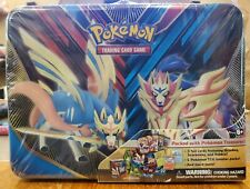 Pokemon TCG Sword & Shield Collector's Chest Tin Lunch Pail Factory Sealed