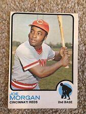 +++ JOE MORGAN 1973 O-PEE-CHEE BASEBALL CARD #230 - CINCINNATI REDS +++