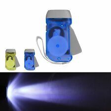 3-LED Wind Up Hand Pressing Crank Flashlight Torch For Emergency Camping Hiking