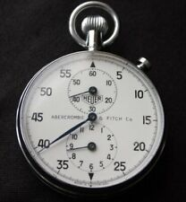 Vintage ABERCROMBIE & FITCH ED HEUER Stopwatch