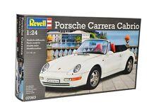 Revell 1/24 Porsche 911 Carrera Cabrio Plastic Model Kit 07063
