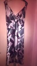 Next Grey/Pink/Burgundy party dress size 8