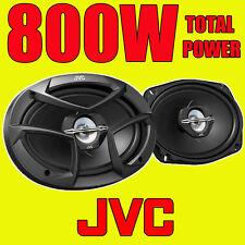 """JVC 6""""x9"""" 800W TOTAL 3WAY 6x9 INCH 3-way car rear deck oval shelf speakers PAIR"""