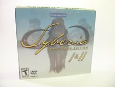 PC GAME SYBERIA 1 & 2 COLLECTORS EDITION CD-Rom WIN 95 GAME ONLY