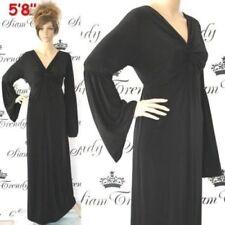 Winter V-Neck Dresses for Women