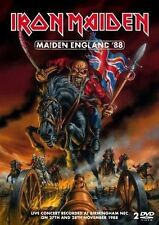 IRON MAIDEN MAIDEN ENGLAND '88 REMASTERED 2 DVD REGION 0 PAL NEW unsealed