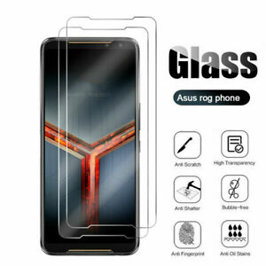 2x for ASUS Rog Phone 1/2/3 ZS660KL ZS661KS Tempered Glass Screen Protector