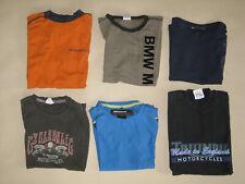 6 Motorrad Fan T-Shirt,  BMW, Triumph, kleine Größen