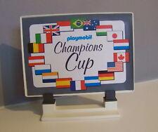 PLAYMOBIL (S101) RACING - Enseigne Affiche Coupe des Champions Formule 1 3930