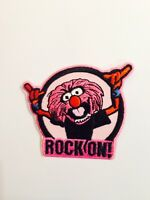 ANIMAL THE MUPPETS DRUMMER ROCK ON ! ☆  Iron On Patch / Motif Costume