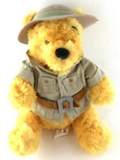Disney Animal Kingdom POOH Safari Bush Jacket Pith Hat Authentic Park Souvenir