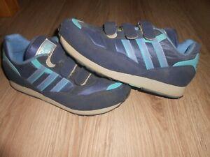 Adidas Retro Klett Schuhe Gr 42 UK 8 Vintage 033891 ZX 9000 Bern Stockholm Rom