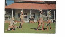 1970 postcard - Rama versus Thotsakan Combat. Bangkok, Thailand.