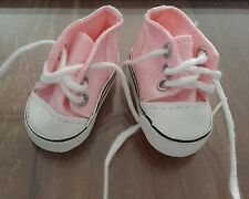Chaussures basket rose 5.8 x 2.5 pour poupée les chéries corolle camille clara