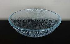 "Cracked Glass Vessel 16 1/2"""