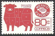 Mexico 1975 Exports/Beef/Cattle/Animals/Food/Trade/Commerce/Business 1v (n42093)