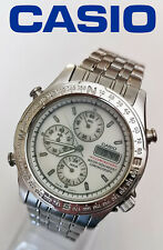 Vintage very rare 90s Casio MWA-800 chronograph module 1325v men's quartz watch