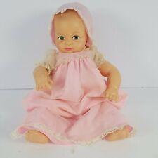 "Vintage Cameo Miss Peep Baby Doll 1953 Jointed Limbs 15"" Squeaks Vinyl"