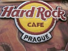 "HARD ROCK CAFE PATCHES PRAGUE ""1"" IRON ON PATCH SOUVENIR COLLECTIBLE #92"