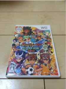 F/S Nintendo Wii Inazuma Eleven Go: Strikers 2013 Soccer Used Game JAPAN IMPORT