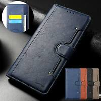 For Samsung Note 20 Ultra S10 S20 FE S10e S9 S8 Flip Leather Wallet Case Cover