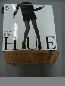 NWT Women's Hue Wide Wale Corduroy Shorts Size Small Camel #261A