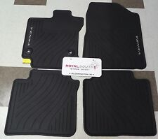 Toyota Venza 2013 - 2014 Factory All Weather Rubber Floor Mats Genuine OEM OE