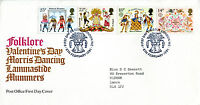 6 FEBRUARY 1981 FOLKLORE POST OFFICE FIRST DAY COVER LONDON WC SHS (w)